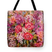 Flowers Of Romance Tote Bag