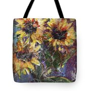 Flowers Of The Gods Tote Bag