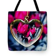 Flowers Of The Heart Tote Bag