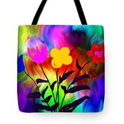 Flowers Of The I-magi-nation Tote Bag