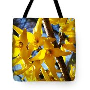 Flowers Of The Sky Tote Bag