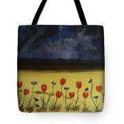 Flowers On Arran Tote Bag