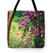 Flowers On Vine  Tote Bag