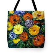 Flowers Painting #191 Tote Bag