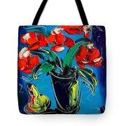Flowers Roses Tote Bag