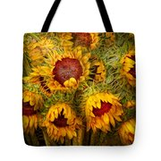Flowers - Sunflowers - You're My Only Sunshine Tote Bag by Mike Savad