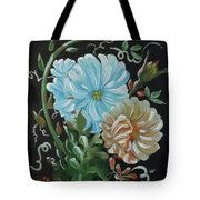 Flowers Surreal Tote Bag