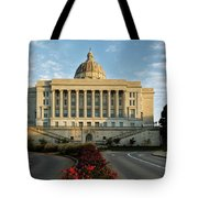 Flowers To The Capital Tote Bag