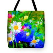 Flowers Two Tote Bag