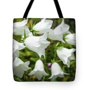Flowers With Droplets 2 Tote Bag