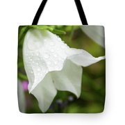 Flowers With Droplets 3 Tote Bag