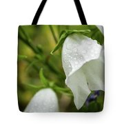 Flowers With Droplets 4 Tote Bag