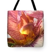 Flowerscape Pink Iris One Tote Bag