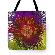 Flowerscape Thistle Tote Bag