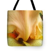 Flowerscape Yellow Iris One Tote Bag