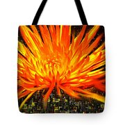 Flowersquared Tote Bag