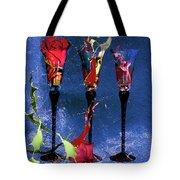 Flowery Cocktails Tote Bag by M Montoya Alicea