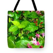 Flowery Flope Tote Bag