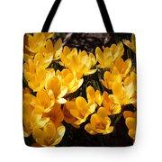 Flowery Sunshine Tote Bag