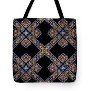 Flowing Abstact Tote Bag