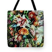 Flowing Bouquet Tote Bag