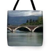 Flowing Bridge Tote Bag