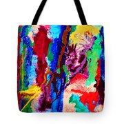Flowing Contrasts Tote Bag