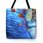 Flowing Fall Tote Bag