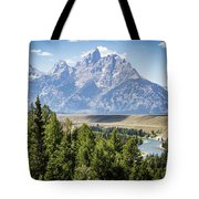 Flowing In The Forest Tote Bag
