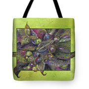 Flowing Leaves And Berries Tote Bag