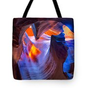 Flowing Light Tote Bag