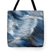 Flowing River Water Tote Bag