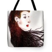 Flowing Tote Bag by Saifon Anaya