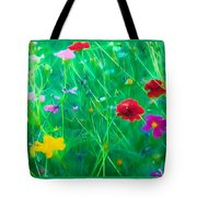 Flowing Softly Tote Bag