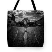 Flowing Street Of Kosice Tote Bag