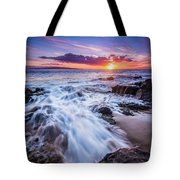 Flowing Sunset Tote Bag