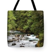 Flowing Through The Trees Tote Bag