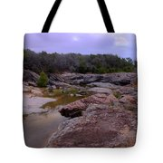 Flowing Through Time Tote Bag