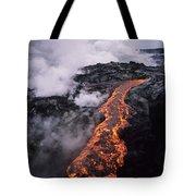 Flowing Towards Ocean Tote Bag