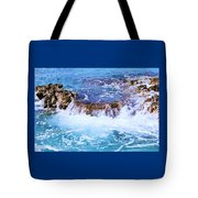 Flowing Water In The Cayman Islands # 4 Tote Bag