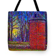 Floyd,virginia Tower Tote Bag