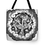 Fludds Primordial Fires, 1617 Tote Bag