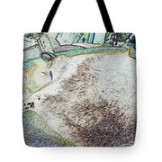Fluf And Mouse Tote Bag