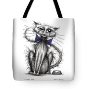 Fluffy Cat Tote Bag