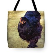 Fluffy Chicken Tote Bag