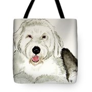 Fluffy Murphy Tote Bag
