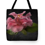 Fluffy Pink Camellia 2 Tote Bag
