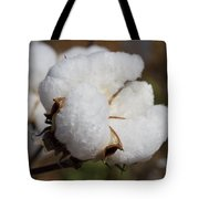 Fluffy White Alabama Cotton Tote Bag