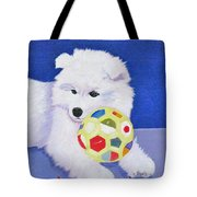 Fluffy's Portrait Tote Bag