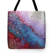Fluid Acrylic Art Tote Bag